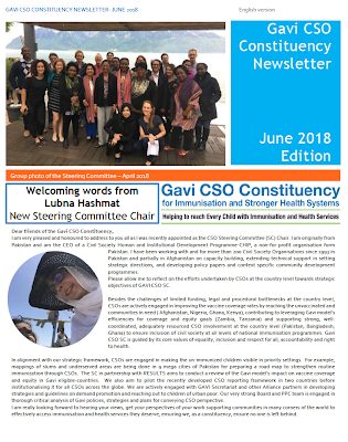 GAVI CSO Newsletter June - English